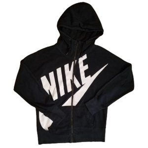 Nike Full Zip Big Logo Hoodie | Women's Large